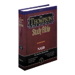 Thomson Chain-Reference Study Bible  NAS